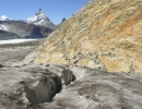 Matterhorn and crevasse