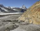 Matterhorn view from the Gorner glacier