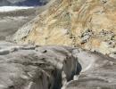 Matterhorn and crevasse