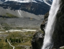 Waterfall out of the sky