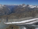 Panorama from the Breithorn